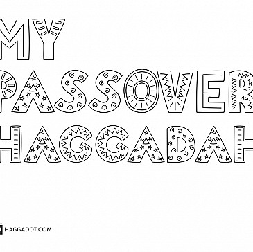Coloring Book Haggadah