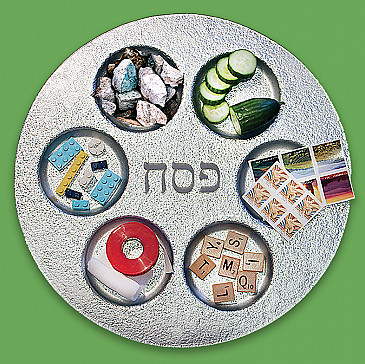 A Second Seder Plate for 2020