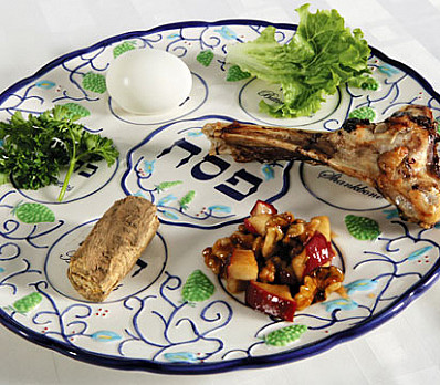 Symbols on the seder plate