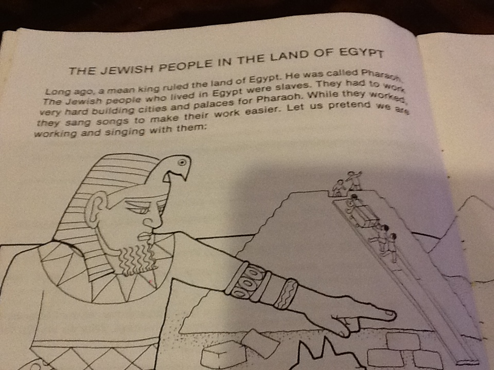 The Jewish People In The Land Of Egypt- Coloring Book | Make Your ...