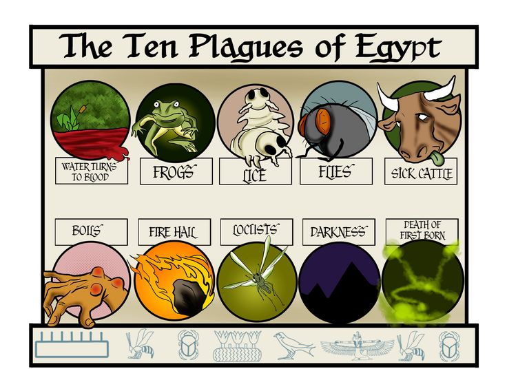 The Ten Plagues | Make Your Own Passover Haggadah ...