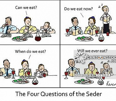 Four Questions Passover