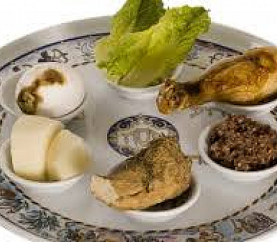 Seder Plate - by Rabbi Shraga Simmons.