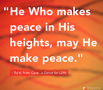He Who makes peace