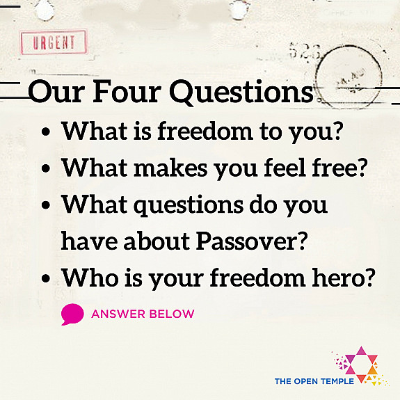 Our Four Questions