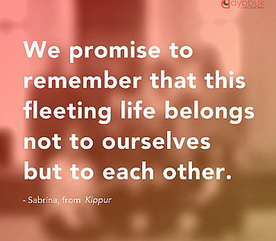We promise to remember...