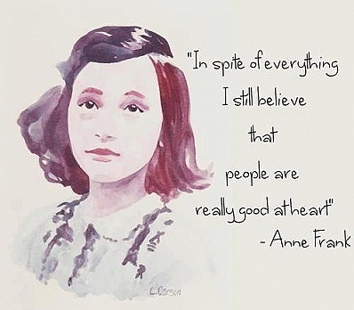Anne Frank Quote on Freedom