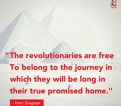 The revolutionaries are free to belong...