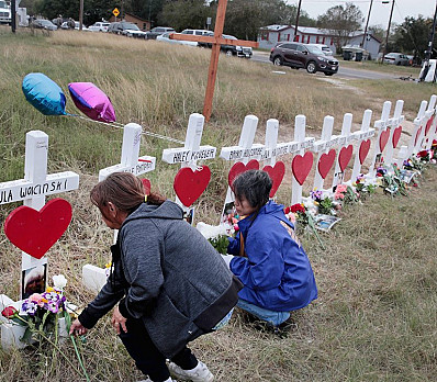 Sutherland Springs First Baptist Church Shooting - 26 dead
