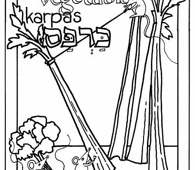Kid Coloring Karpas