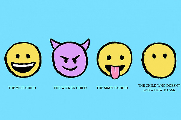 Emoji Four children