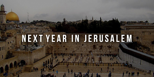 Next Year in Jerusalem!