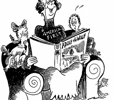 Dr. Seuss Anti-Hitler Cartoon