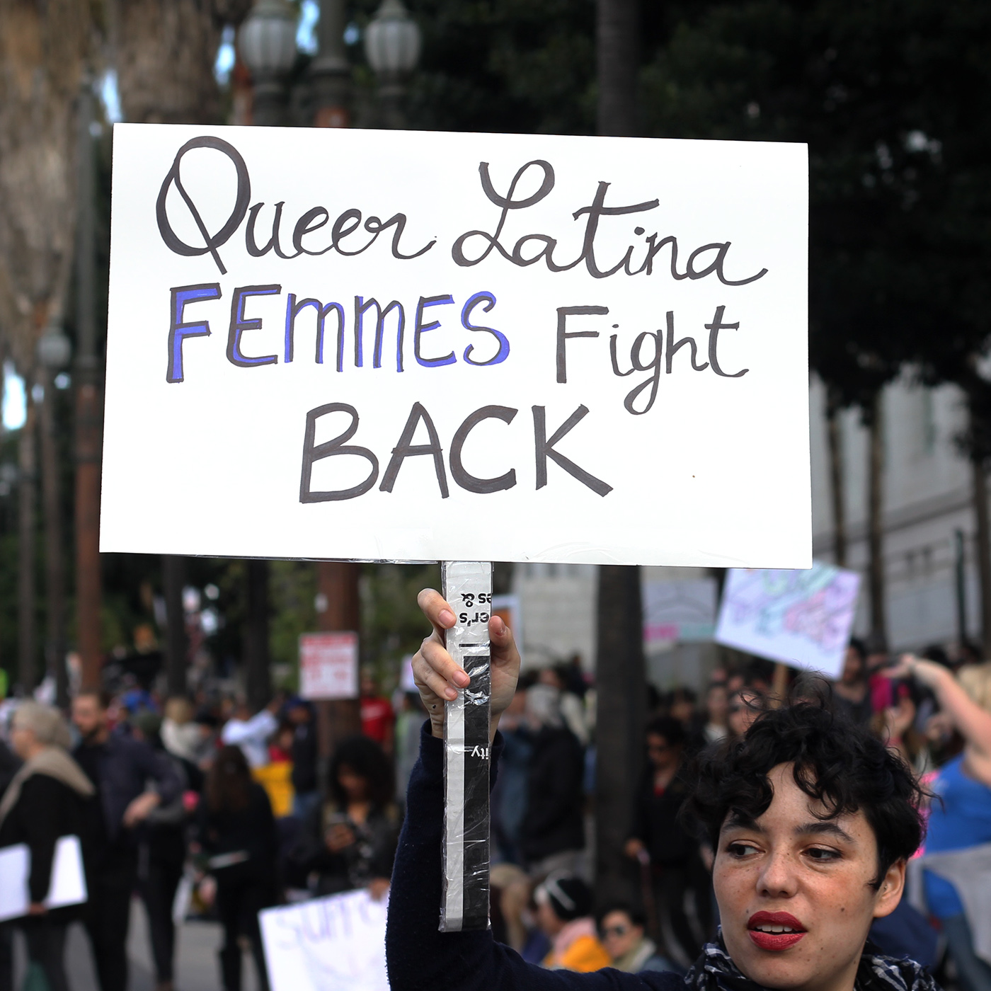 Queer Latina Femmes Fight Back