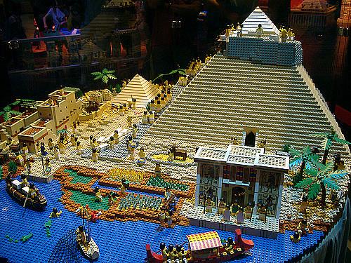 Lego Pyramid of Egypt