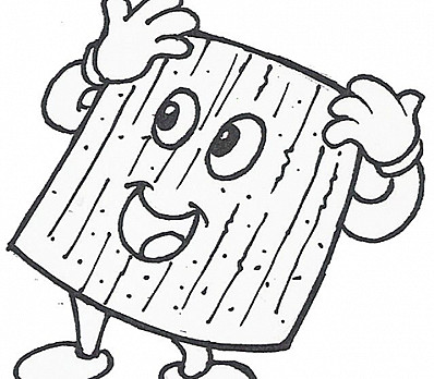 Matzah Coloring Page