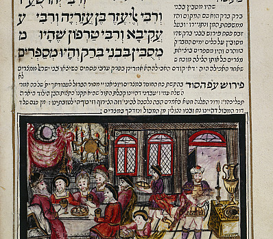 The Rabbis of Bene Brak - Passover Haggadah (1740)