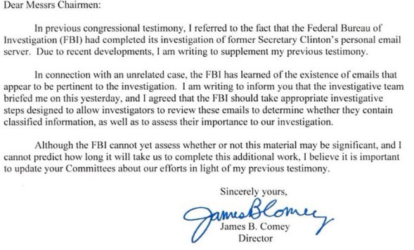 The Comey Letter | Make Your Own Passover Haggadah | Haggadot.com