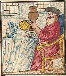 Kiddush Illuminated Manuscript