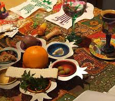 The Orange on the Sedar Plate