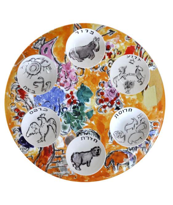 The Symbols Of The Passover Pesach Seder Plate Make Your Own