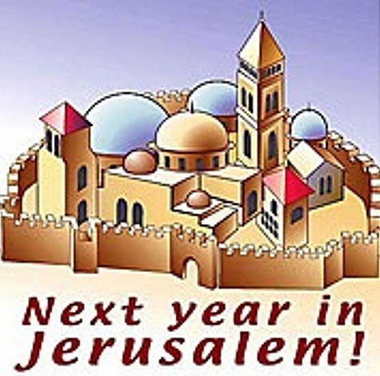 Next Year in Jerualem!