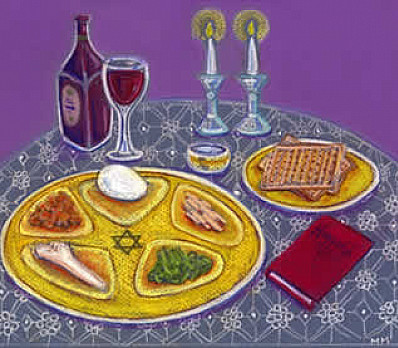 passover cover art