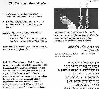 Kiddush Part 3 - Havdalah