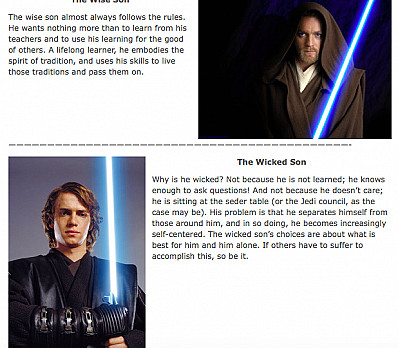 The 4 Star Wars Sons!