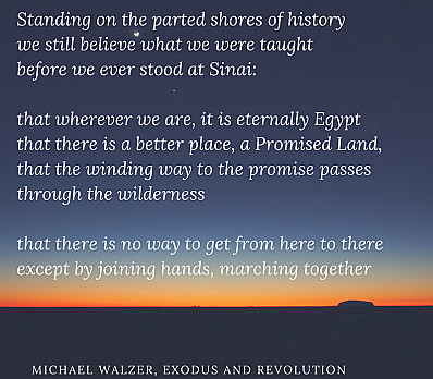 Michael Walzer, Exodus and Revolution