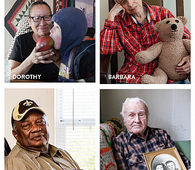 Four Faces of Senior Hunger