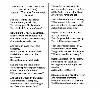 The Ballad of Four Sons