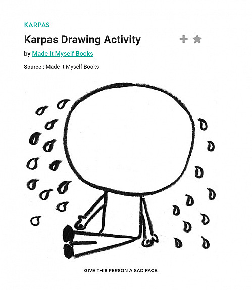karpas drawing activity
