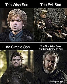 Game of Thrones 4 Sons