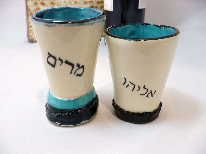 Elijah's Cup and Miriam's Cup