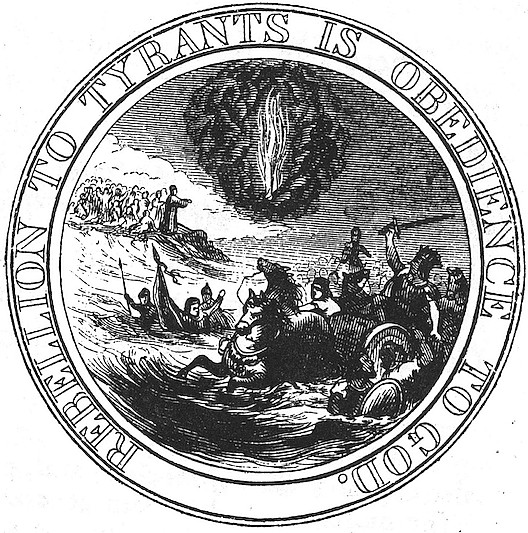 First Proposed Seal of the United States