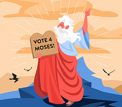 Skit - The Democrats Try To Nominate A New Moses