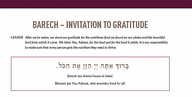 BARECH – INVITATION TO GRATITUDE