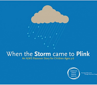 When the Storm Came to Plink: Cover