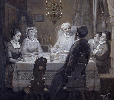 Seder (The Passover Meal) (Der Oster-Abend)