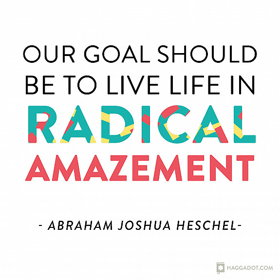 Heschel on Radical Amazement
