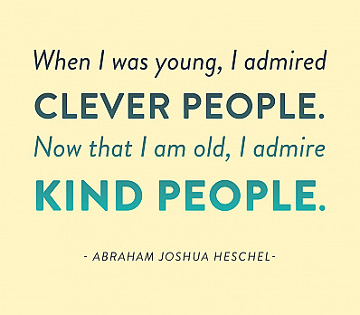 Heschel on Kindness