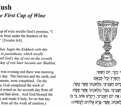 Kiddush Part 1